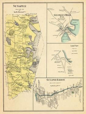 1892, Sunapee, Georgesmills, Lake View, Sunapee Harbor, New Hampshire, United States