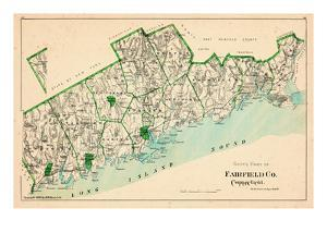 1893, Fairfield County - South Part, Connecticut, United States