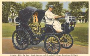 1894 Daimler, Greenfield Village, Dearborn, Michigan