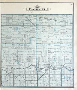 1896, Frankenmuth Township, Dead River, Michigan, United States