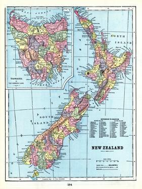 1898, New Zealand, Tansania, New Zealand and Tasmania