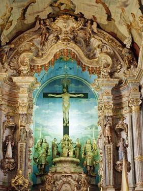 18th Century Baroque High Altar, Bom Jesus De Matosinhos Sanctuary