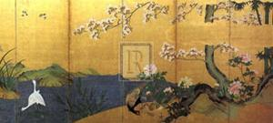 Blossom Time by 18th Century Chinese School