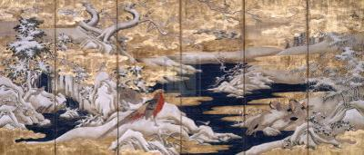 Winter Scene With Birds by 18th Century Chinese School