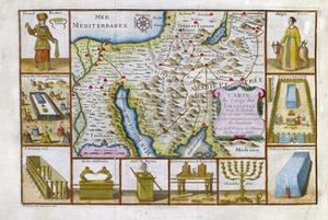 18th Century Map of Egypt, Arabia and the Middle East