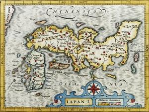 18Th Century Map of Japan
