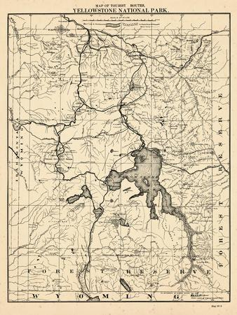 Maps Of Wyoming Posters At AllPosterscom - Map wyoming
