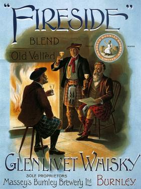 1900s UK Glenlivet Poster