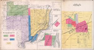 1901, Waterville, Bailey, Whitehouse Village, Ohio, United States