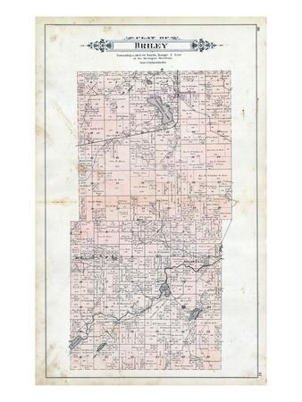 Maps of Michigan Posters at AllPosterscom