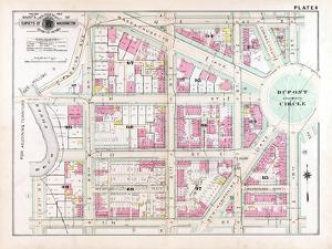 1903, Plate 006, District of Columbia, United States, Dupont Circle