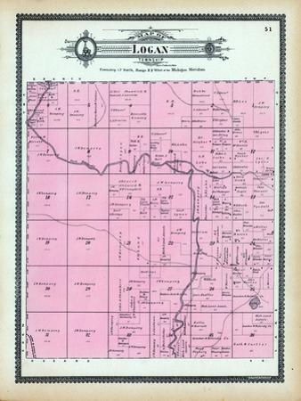 1904, Logan Township, Pere Marquette River, Michigan, United States