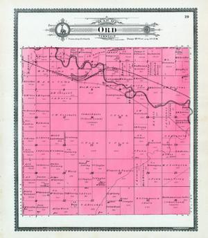 1904, Ord Township, Elkhorn River, Nebraska, United States