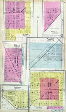 1905, Ohiowa, Martland, Milligan, Buxton, Burress, Shickley, Nebraska, United States