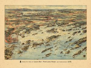 1906, Casco Bay, Portland, Maine