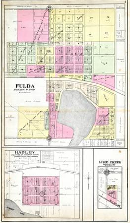 1908, Fulda, Hadley, Lime Creek, Minnesota, United States