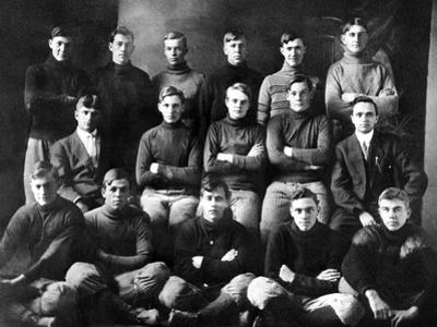 1910 Abilene High School Football Team, on Which President Dwight Eisenhower Played