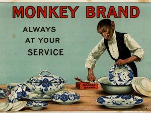 1910s UK Monkey Brand Magazine Advertisement