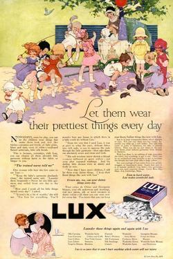 1910s USA Lux Magazine Advertisement