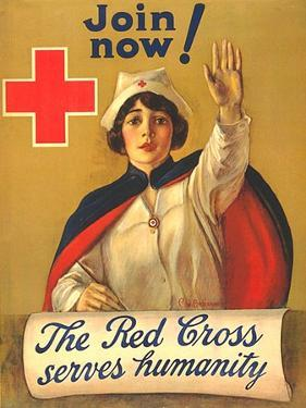 1910s USA The Red Cross Poster