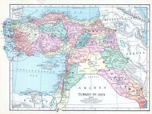 1913, Armenia, Cyprus, Russia, Turkey, Israel, Jordania, Lebanon, Syria, Asia, Holy Land, Arabia