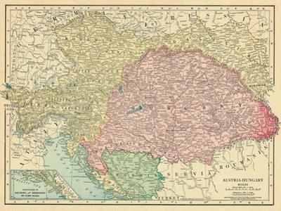 1913, Austria, Bosnia & Herzegovina, Croatia, Germany, Hungary, Italy, Slovakia, Europe