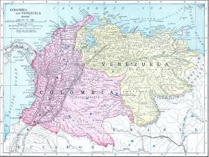 1913, Brazil, Columbia, Ecuador, Venezuela, South America