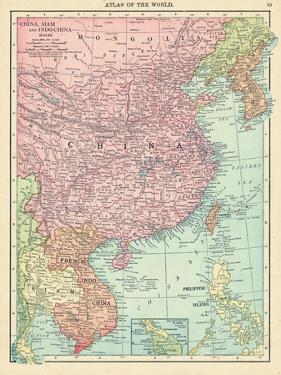 1913, Cambodia, China, Laos, Mongolia, North Korea, Philippines, South Korea, Taiwan, Vietnam, Asia