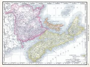 1913, Canada, New Brunswick, Nova Scotia, Prince Edward Island, North America, Maritime Provinces