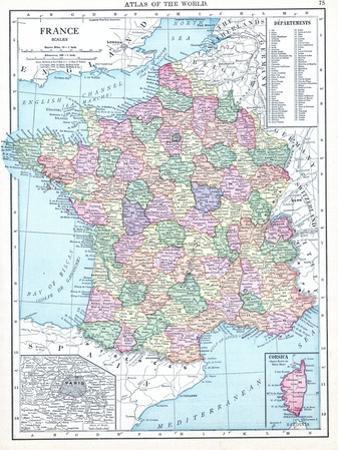 1913, France, Europe