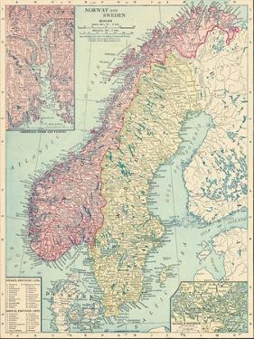 1913, Norway, Sweden, Europe, Norway and Sweden