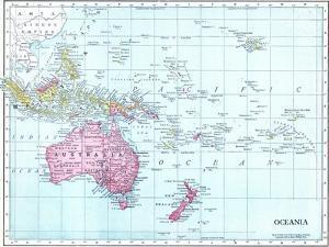 1913, Oceania