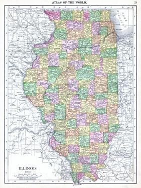 1913, United States, Illinois, North America