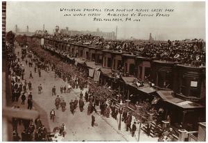 1914 Philadelphia A's Boston Braves World Series POSTER