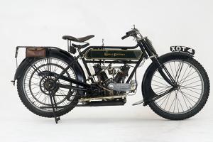 1914 Royal Enfield 3hp motorcycle