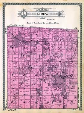 1915, Almira Township, Cedar Run, Lake Ann, Pearl Lake, Black Lake, Michigan, United States