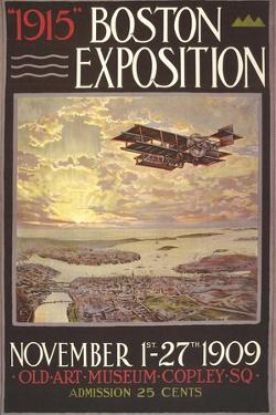 1915 Boston Exposition Poster