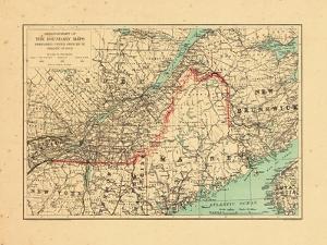 1915, Maine, New Brunswick, Quebec