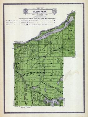 1916, Burnsville Township, Crystal Lake, Black Dog Lake, Minnesota River, Minnesota, United States