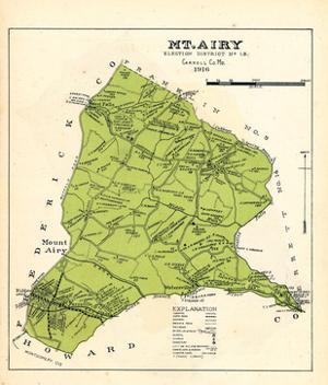 1916, Mount Airy, Maryland, United States