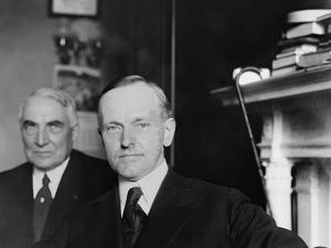 1920 Republican Vice Presidential Nominee, Governor Calvin Coolidge of Massachusetts