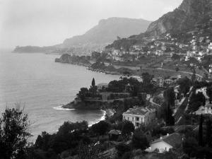 1920s Aerial Nice French Riviera Coastline Cote D'Zur Mediterranean Sea