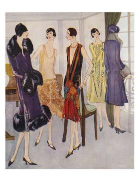 1920s Fashion, 1925, UK