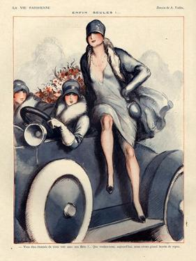 1920s France La Vie Parisienne Magazine Plate