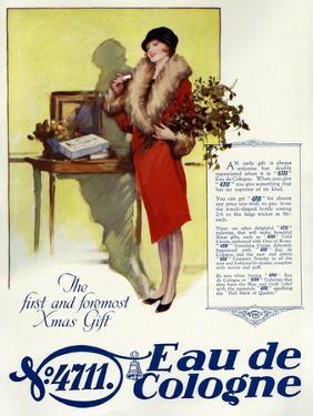 1920s UK 4711 Eau de Cologne Magazine Advertisement