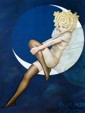 1920s USA Blue Moon Magazine Advert (Detail)