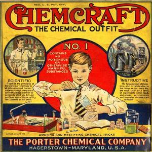 1920s USA The Porter Chemical Company Magazine Advertisement