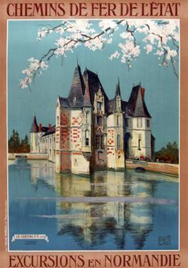 1922 Excursions Normandie