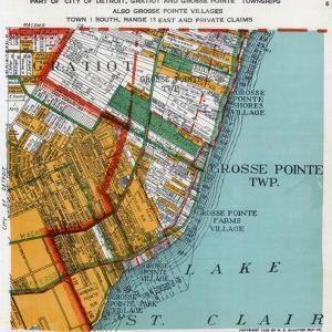 1925, Grosse Point Township, Gratiot Township, Detroit 3, Lake St. Clair, Michigan, United Sta