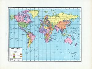1925, World, The World